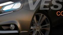 Lada Vesta concept teaser