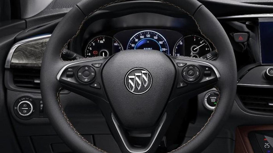2015 Buick Envision interior pictures released