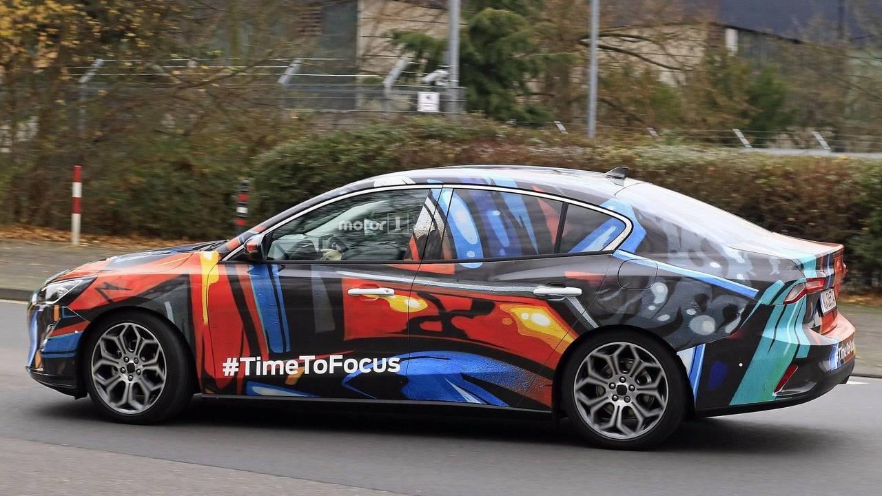 Focus 2019 Brasil >> 2019 Ford Focus Sedan spy photo photo