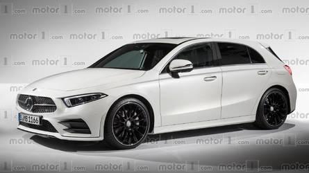 La nouvelle Mercedes Classe A devrait ressembler à ça !