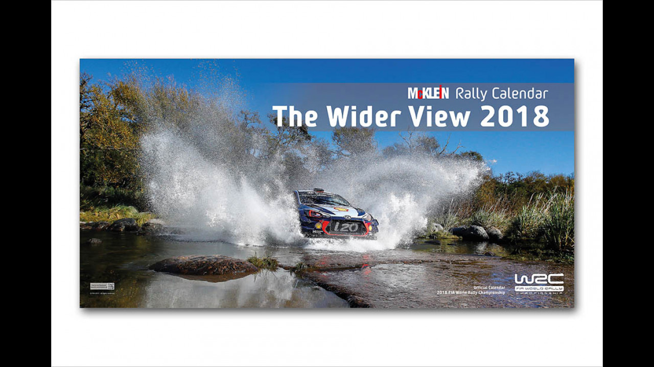 McKlein Rally Calender ,The Wider View