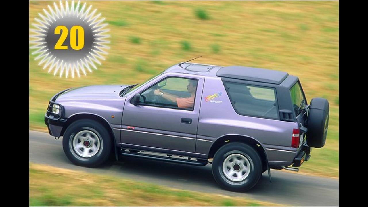 20 Jahre Opel Frontera