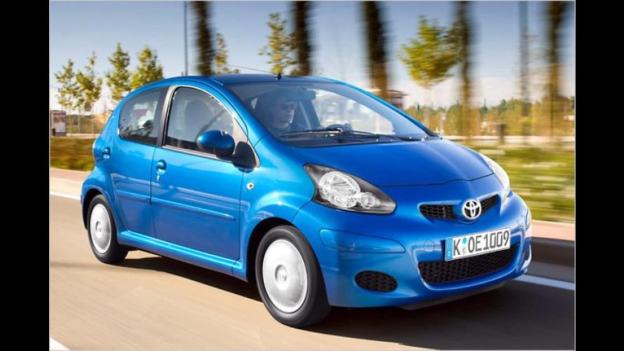 Toyota-Herbstaktion:Aygo, Yaris und Auris billiger