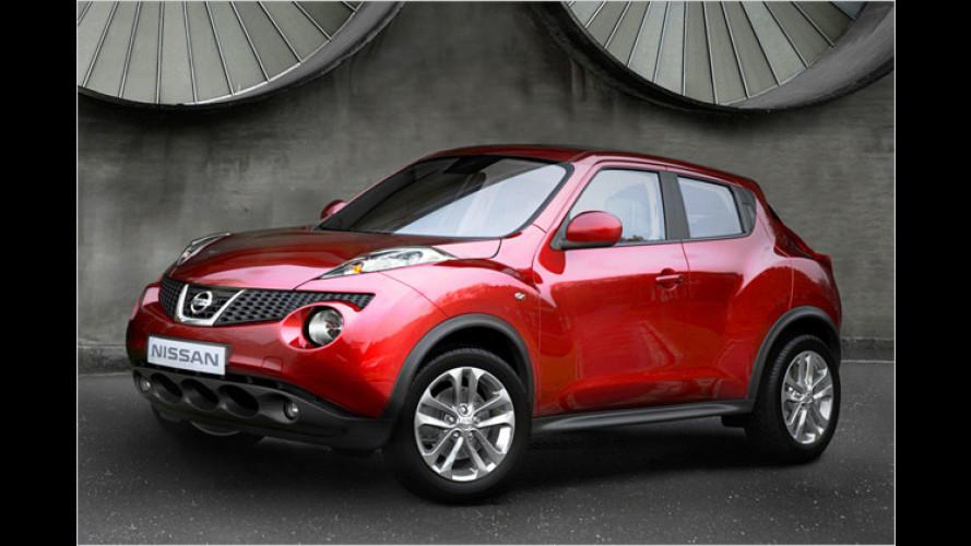 Nissan Juke: Die Preise beginnen bei 16.990 Euro
