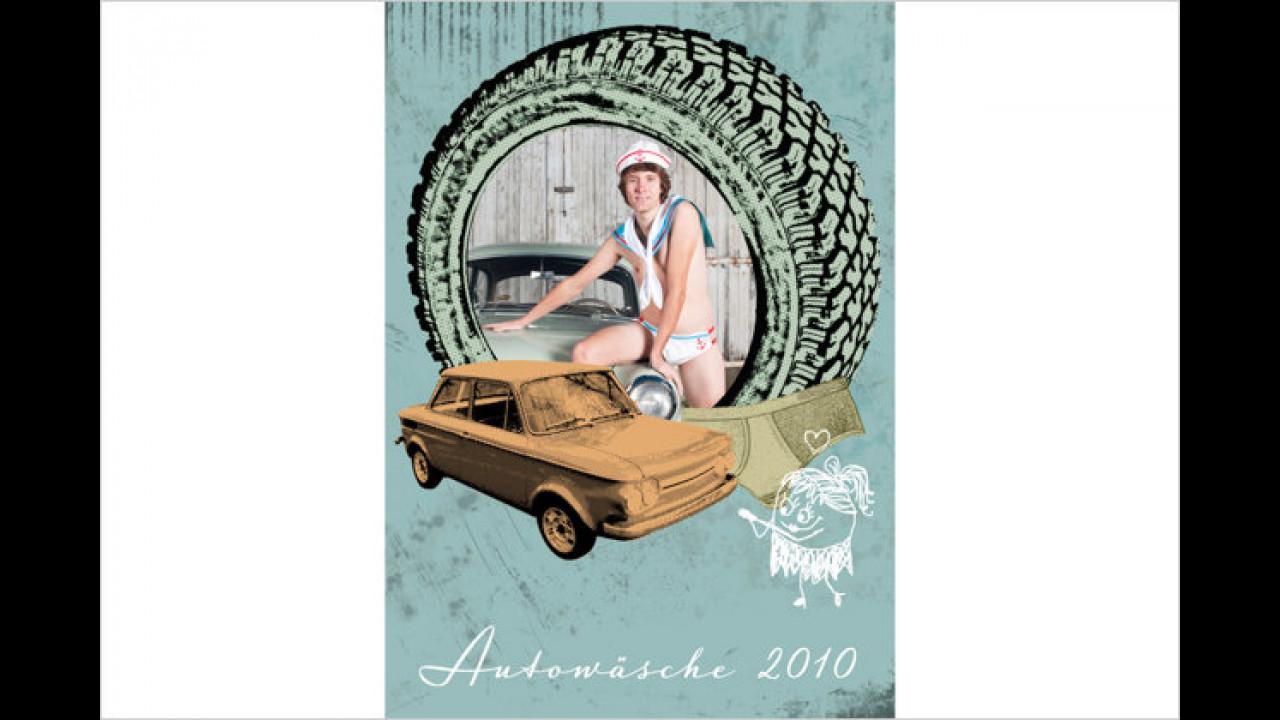 Den Autowäschekalender gab es auch 2010