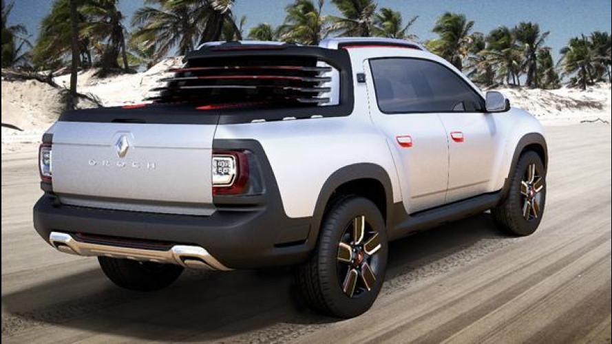 Dacia Duster Oroch, doppia cabina per i mercati emergenti