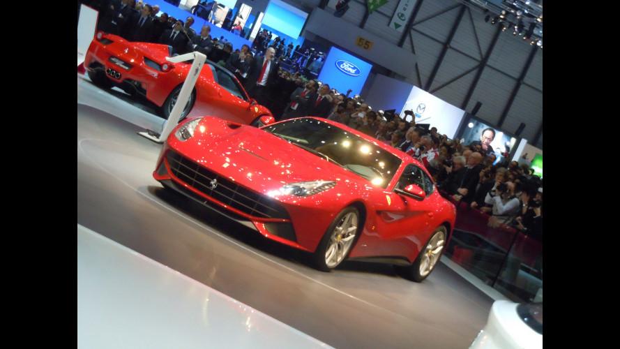 La Ferrari di Marchionne, Elkann e Montezemolo