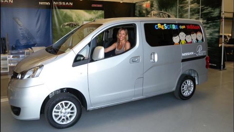 Nissan Evalia per una Onlus di Roma