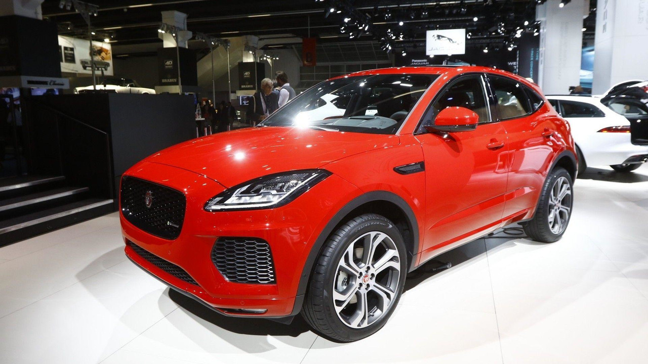 2018 jaguar e pace au salon de francfort photos. Black Bedroom Furniture Sets. Home Design Ideas