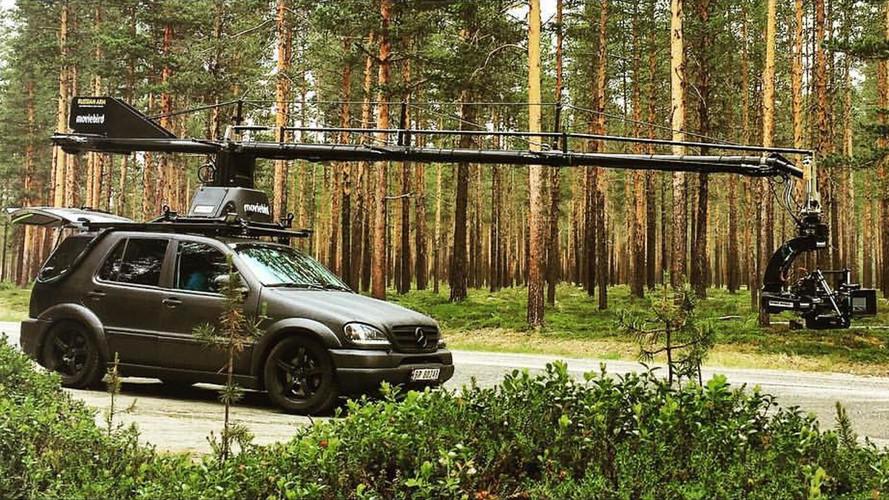 Watch This Mercedes-AMG ML55 Camera Car Pretend It's A WRC Racer