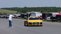 Audi R8 Half-Mile Drag Video