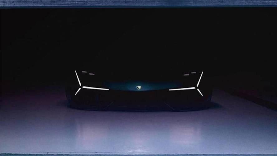 Teaser - Un nouveau concept Lamborghini présenté lundi !