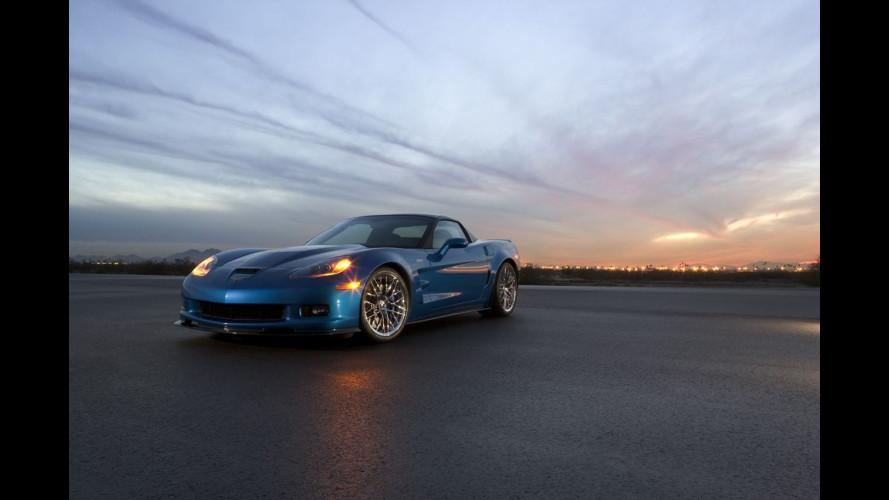 Corvette ZR1: in Italia a 137.490 euro