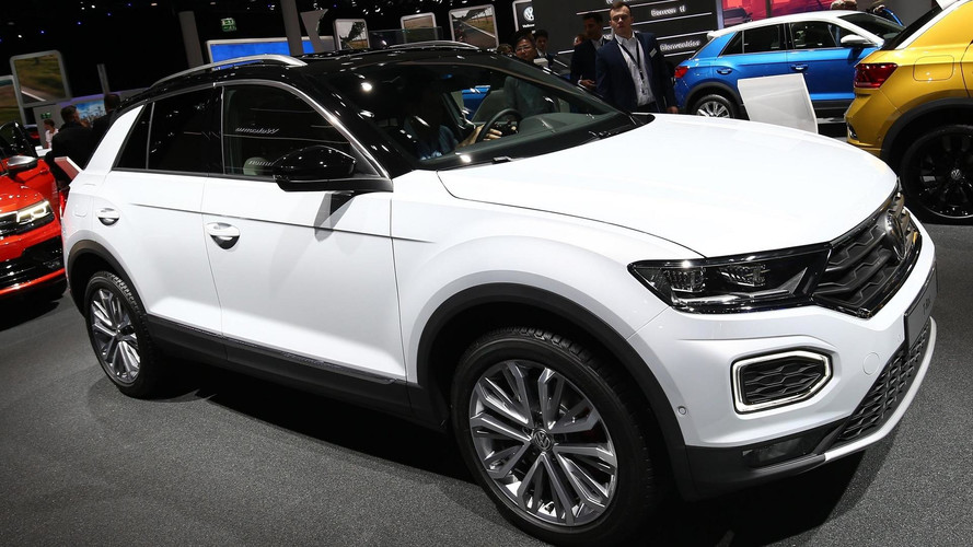 2018 vw t roc crossover can now be ordered in germany. Black Bedroom Furniture Sets. Home Design Ideas