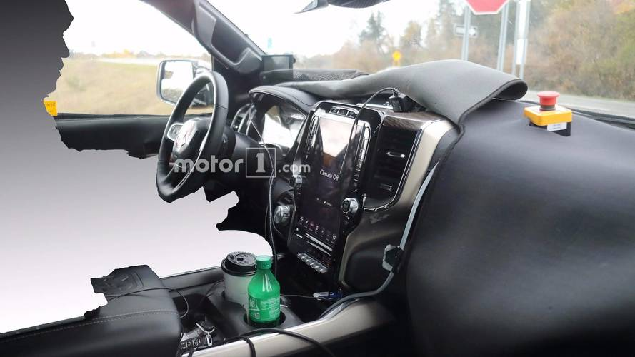 2019 Ram 1500 Interior Exposed In New Spy Photos