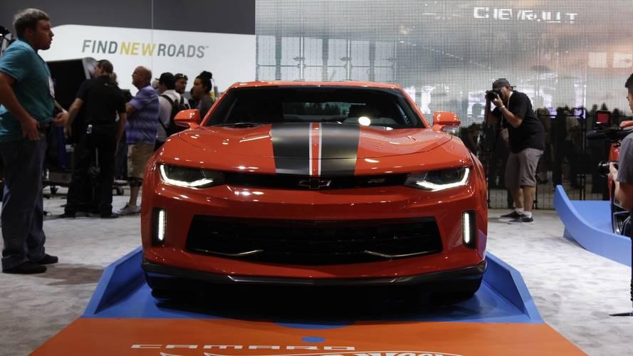 SEMA Show: veja os detalhes Chevrolet Camaro Hot Wheels ao vivo