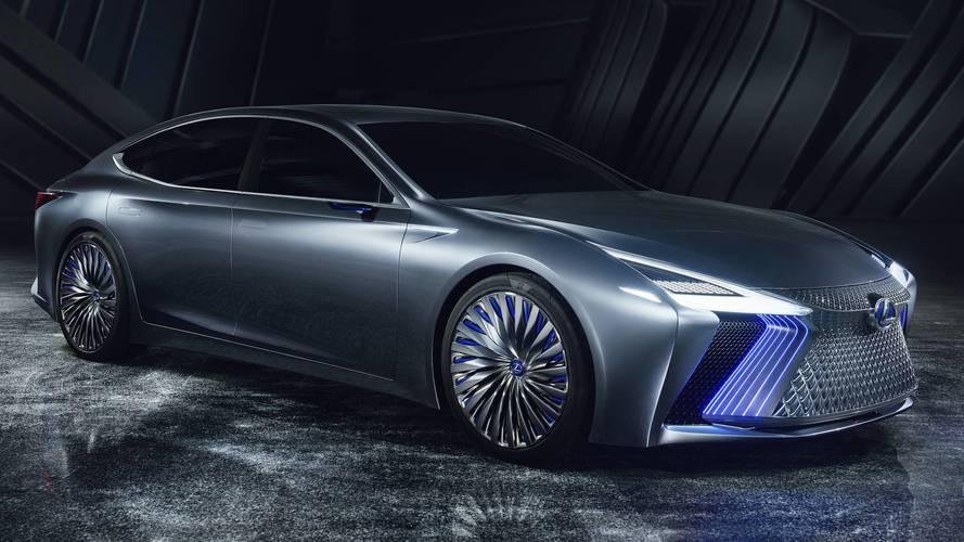 2017 Lexus LS+ Concept