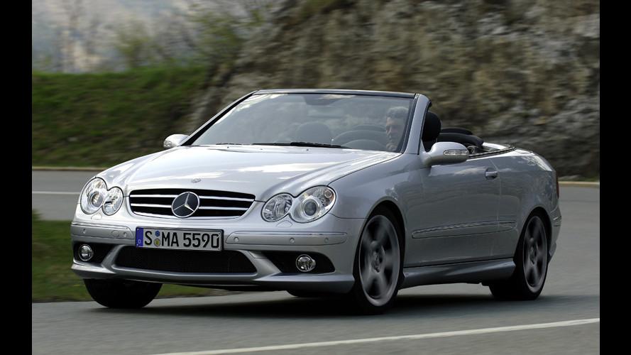 Le nuove Mercedes CLK 500