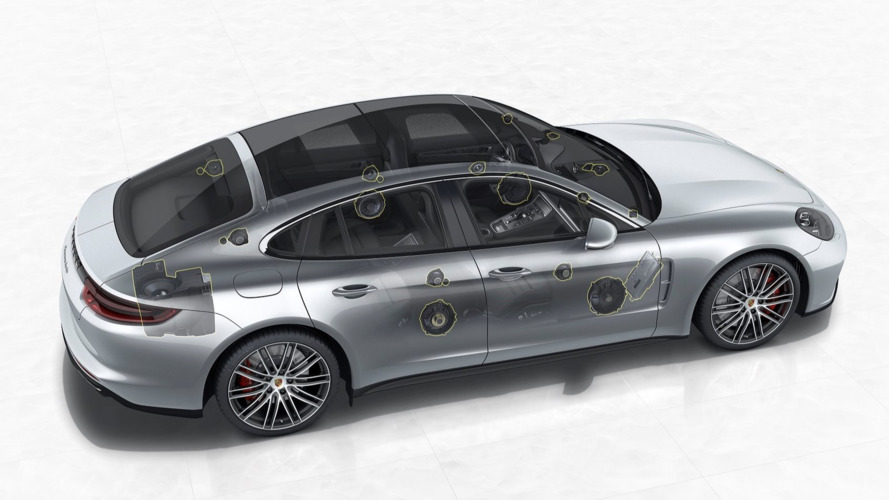 Porsche adds optional 1455w Burmester 3D stereo to Panamera