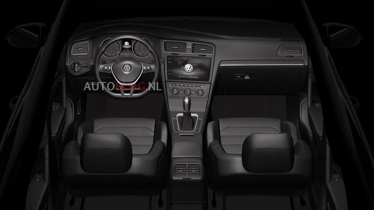2017 VW Golf, Teramont, and 2018 CC interior