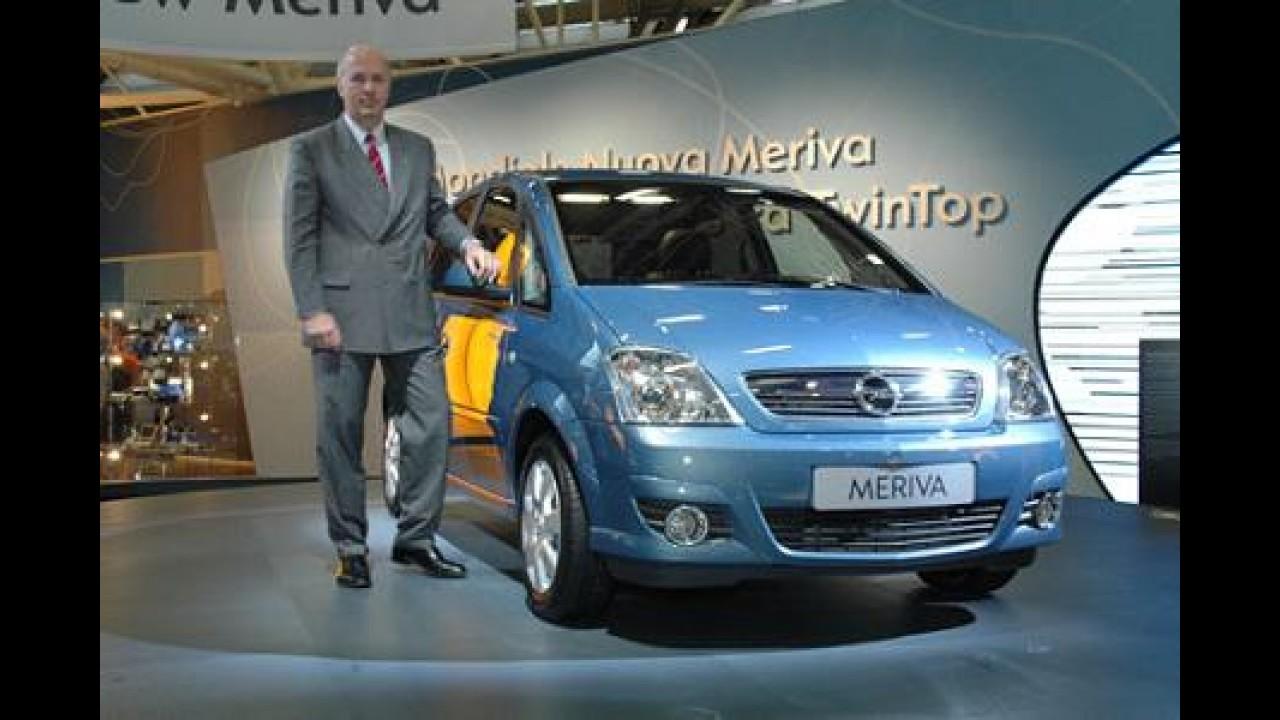 Nova Chevrolet Meriva pode vir com câmbio automático