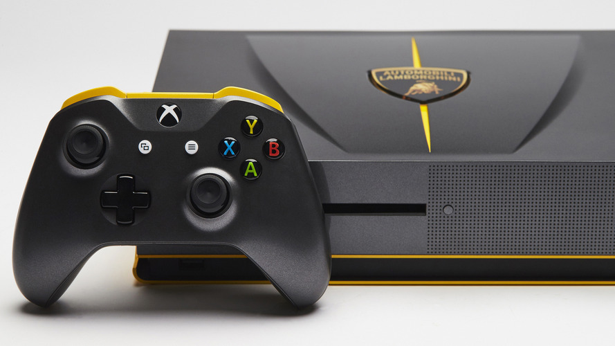 Audi, Mustang, and Lamborghini-styled Xbox consoles being given away