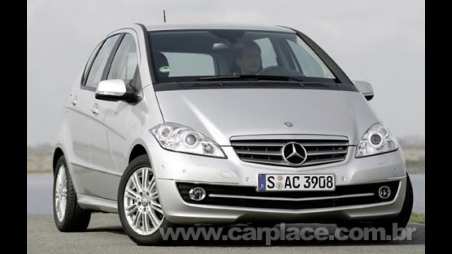 Híbrido: Mercedes Classe A com motor elétrico pode ser lançado em 2010