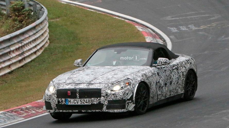 BMW Z5, Nürburgring'de ilk kez görüntülendi