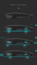Apple Car 2076, magnetic levitation tech