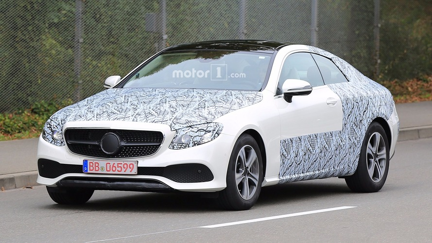 Mercedes Classe E Coupé photos espion