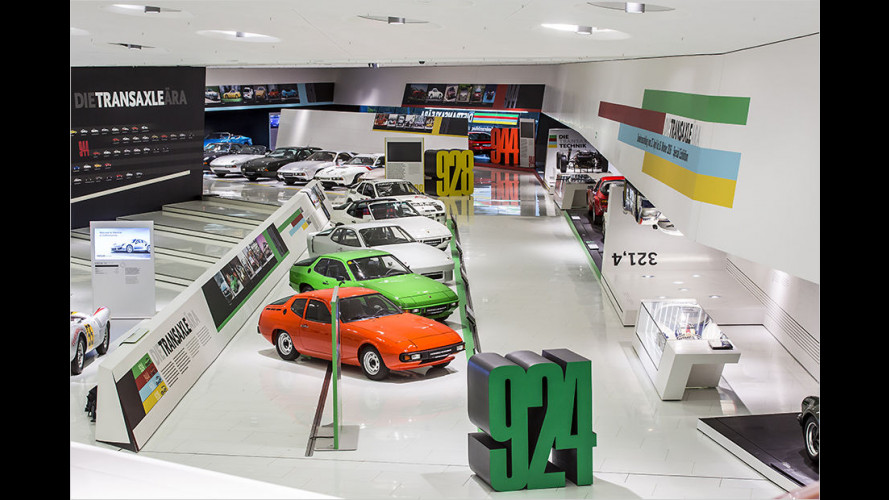 Porsche-Museum würdigt ,40 Jahre Transaxle