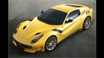 Ferrari F12tdf: Dampf für die Piste