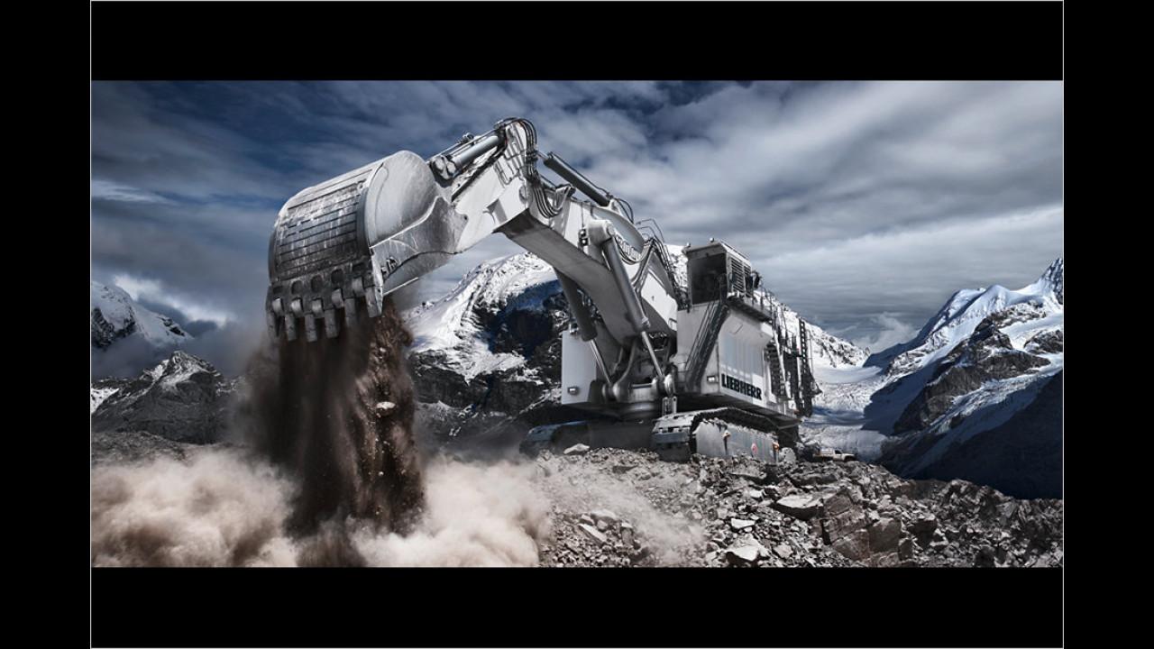 Liebherr R 9800 Miningbagger