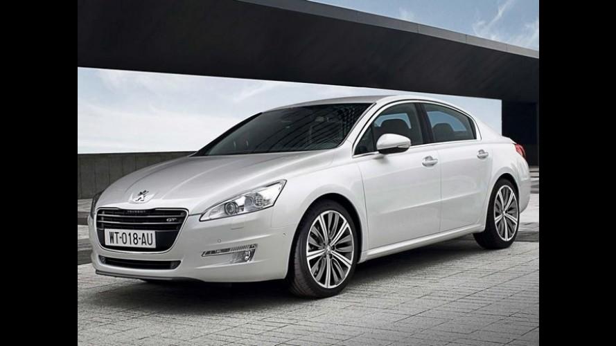 Peugeot reduz ritmo de produção do sedã 508 por conta da baixa demanda