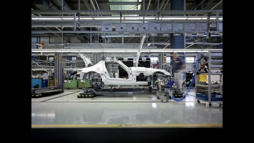Mercedes quer acelerar o processo e fabricar carros em 30 horas