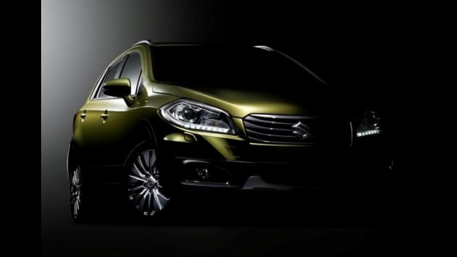 Suzuki divulga teaser da versão de produção do S-Cross