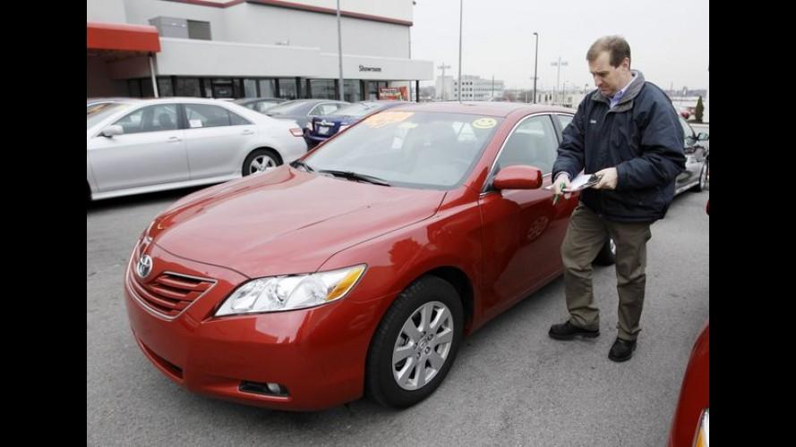 Caso do acelerador: Toyota é acusada de saber dos riscos do problema