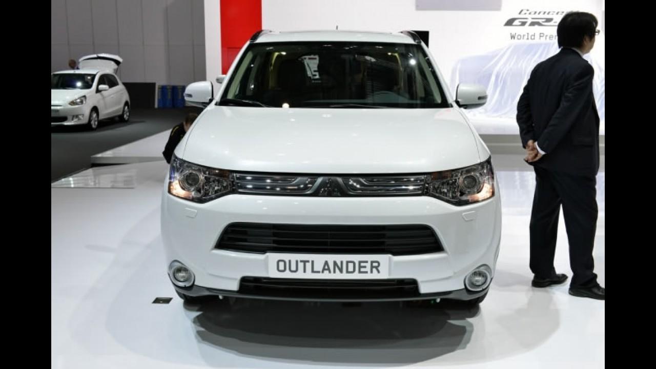 Salão de Genebra: Mitsubishi Outlander 2014 é apresentado na Europa
