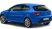 Seat Leon 3-door Rendered