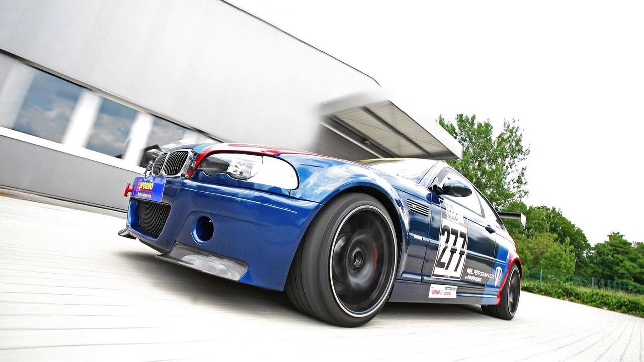 BMW M3 CSL by REIL Performance 1.8.2012