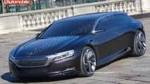 Citroen DS9 concept spy photo, 560, 21.03.2012