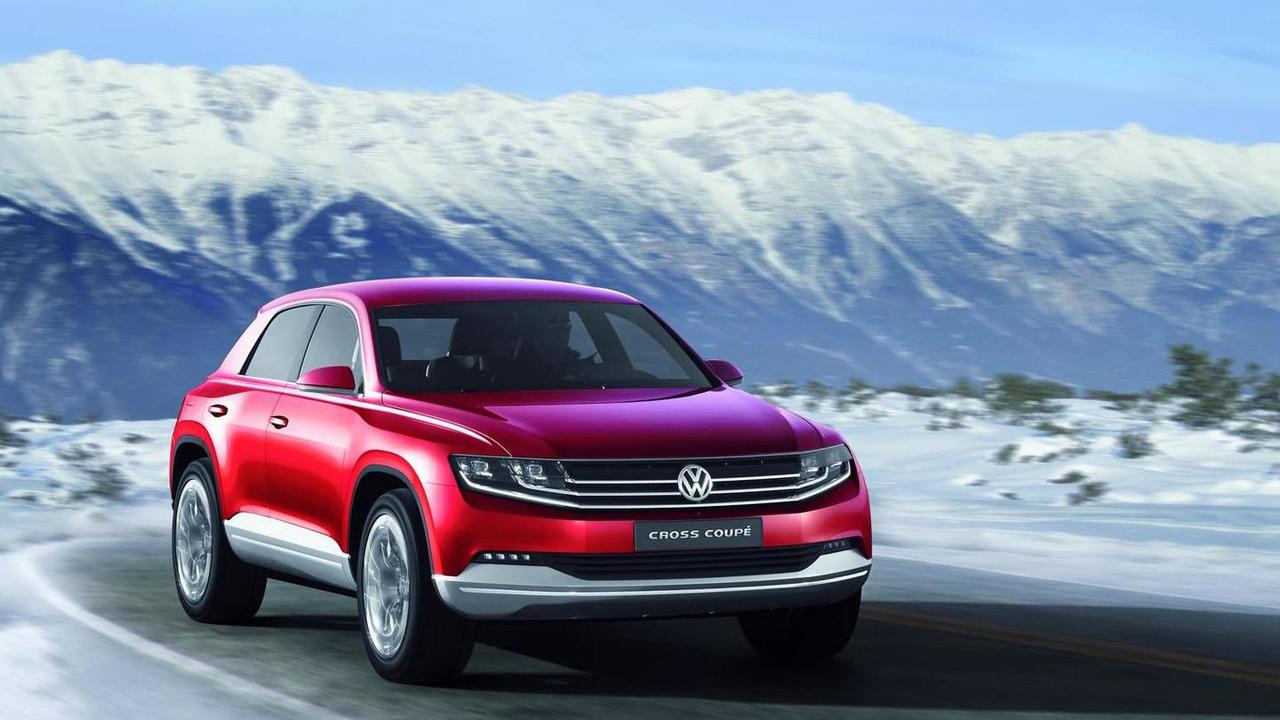 Volkswagen Cross Coupe TDI Plug-In Hybrid Concept