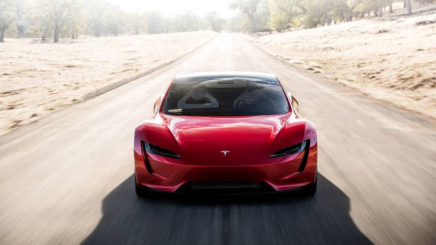 Így gyorsul a 400 km/órás végsebességgel rendelkező új Tesla Roadster