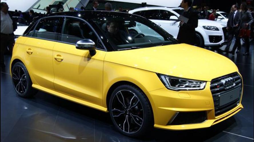 Audi S1, una piccola