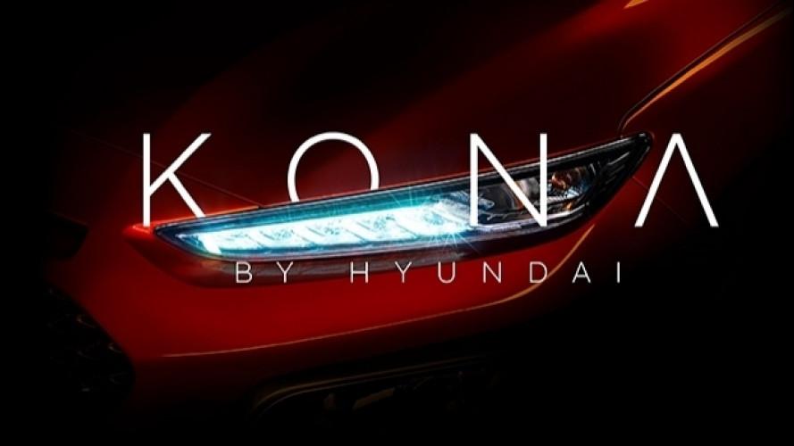 Hyundai Kona, il nome del nuovo SUV compatto