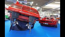 Le Ferrari a Verona Legend Cars