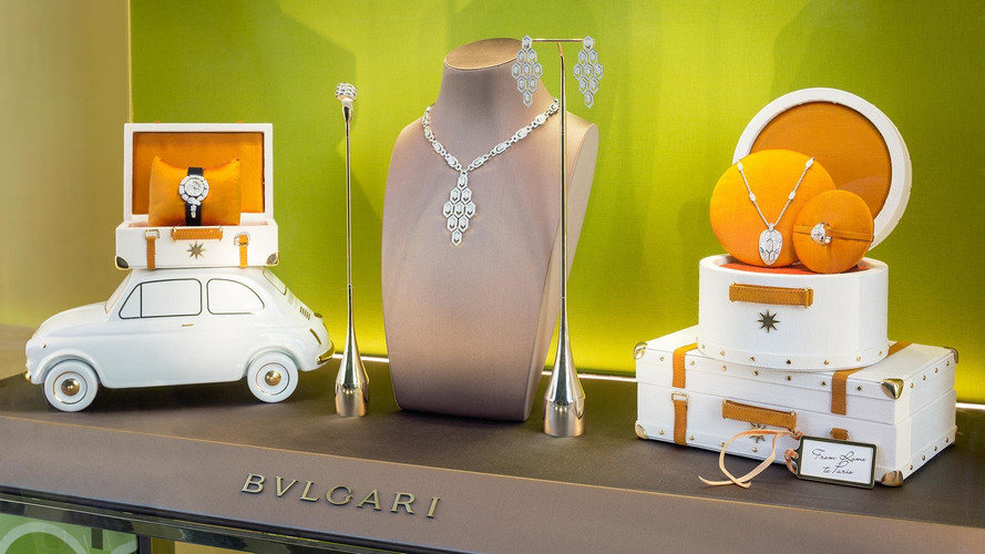 See How Bulgari Uses Fiat 500 To Carry Beautiful Jewelry
