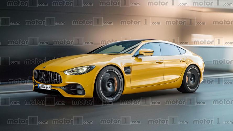 Mercedes-AMG GT cuatro puertas, la pesadilla del Panamera