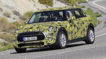 2018 Mini Five-Door Hatch facelift spy photos