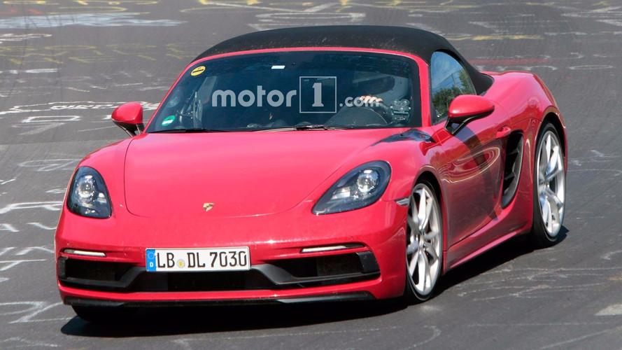 Porsche 718 Boxster GTS fotos espía
